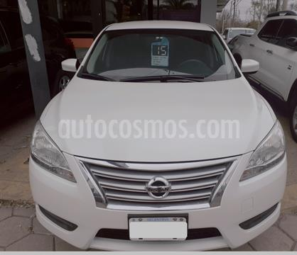Nissan Sentra Advance Safety Pack usado (2015) color Blanco precio $1.420.000