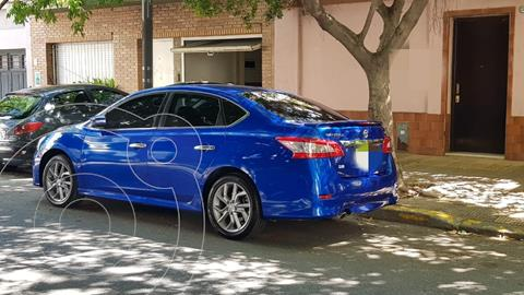 Nissan Sentra SR CVT usado (2015) color Azul Electrico precio $1.269.900