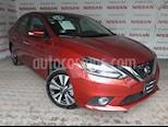 Foto venta Auto Seminuevo Nissan Sentra Exclusive Aut NAVI (2018) color Rojo Burdeos precio $295,000