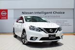 Foto venta Auto usado Nissan Sentra Exclusive Aut NAVI (2019) color Blanco precio $349,000