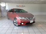Foto venta Auto usado Nissan Sentra Exclusive Aut NAVI (2017) color Rojo Burdeos precio $254,900