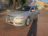 Foto venta Auto usado Nissan Sentra Exclusive Aut NAVI color Plata precio $185,000