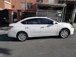 Nissan Sentra Exclusive Aut usado (2014) color Blanco precio $37.000.000
