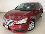 Foto venta Auto usado Nissan Sentra Exclusive NAVI Aut color Rojo Burdeos precio $144,900