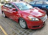 Foto venta Auto usado Nissan Sentra Exclusive NAVI Aut color Rojo Burdeos precio $155,000