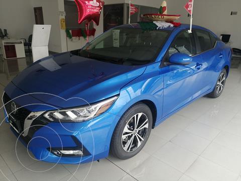 foto Nissan Sentra Advance  usado (2021) color Azul Acero precio $375,000