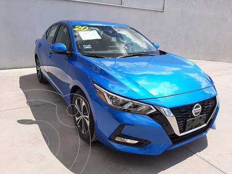 Nissan Sentra Advance usado (2020) color Azul precio $323,000