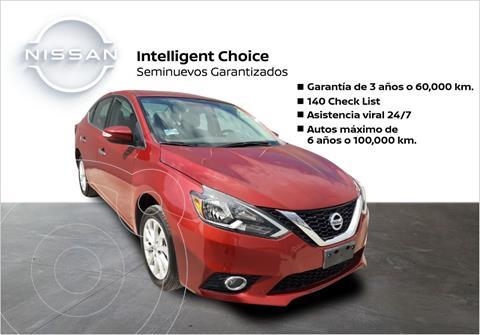 Nissan Sentra Advance usado (2019) color Rojo precio $295,900