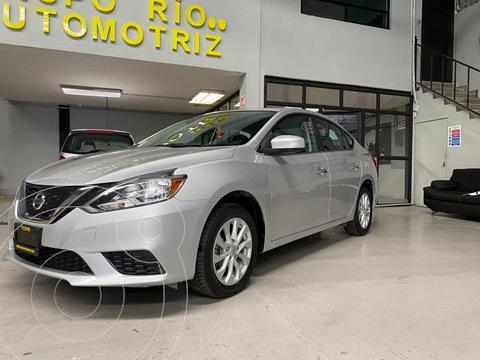 Nissan Sentra Sense usado (2017) color Plata Dorado precio $198,000