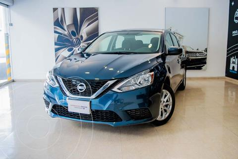 Nissan Sentra SENSE 1.8L L4 129HP CVT usado (2019) color Azul Orion precio $289,000