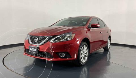 Nissan Sentra Advance Aut usado (2018) color Rojo precio $217,999