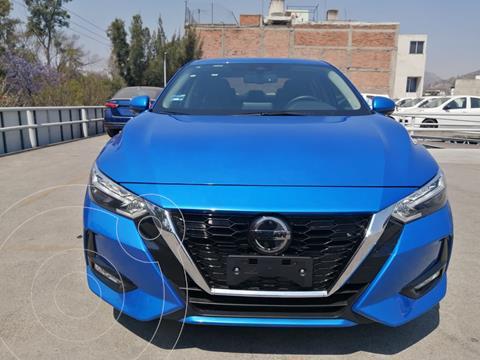 Nissan Sentra Exclusive Aut usado (2020) color Azul precio $430,000