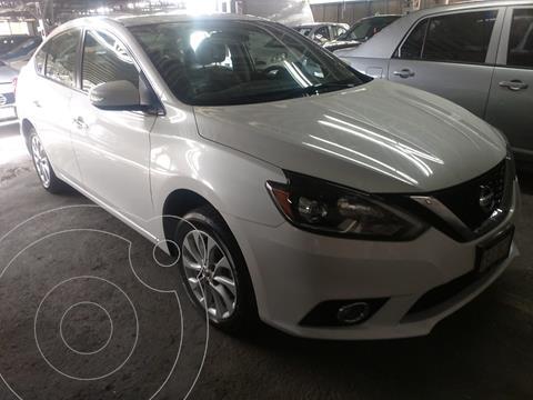 Nissan Sentra Exclusive Aut  usado (2018) color Blanco Perla financiado en mensualidades(enganche $60,000 mensualidades desde $6,134)