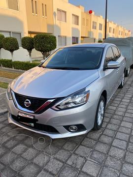 Nissan Sentra Advance Aut usado (2017) color Plata precio $172,000