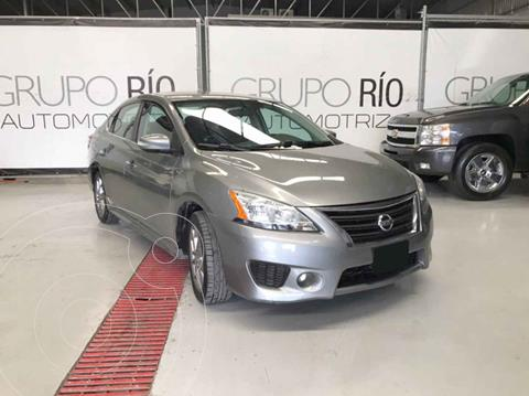 Nissan Sentra SR Aut NAVI usado (2015) color Gris precio $165,000