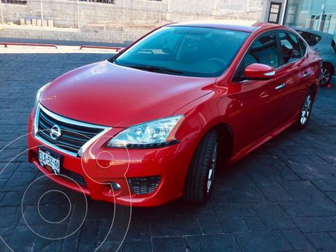 Nissan Sentra SR NAVI Aut usado (2016) color Rojo precio $218,000