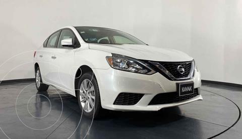 Nissan Sentra Advance Aut usado (2018) color Blanco precio $194,999