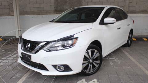 Nissan Sentra Exclusive Aut NAVI usado (2017) color Blanco precio $280,000