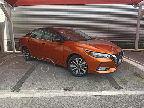Nissan Sentra Exclusive Bi-tono Aut usado (2020) color Naranja precio $420,000