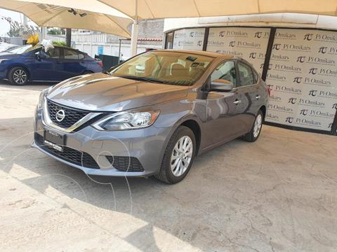 Nissan Sentra Sense usado (2019) color Gris Oscuro precio $249,000