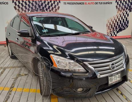 Nissan Sentra Advance Aut usado (2015) color Negro financiado en mensualidades(enganche $97,500 mensualidades desde $3,540)