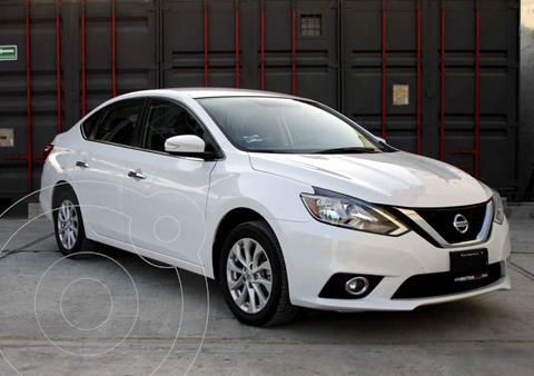 Nissan Sentra Advance Aut usado (2019) color Blanco precio $258,000