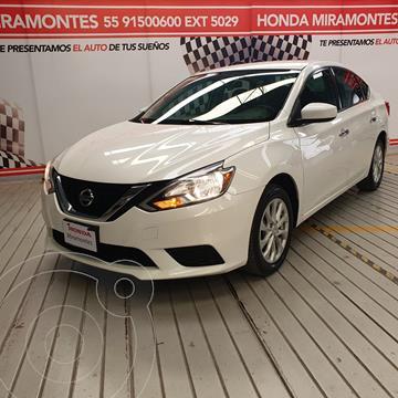 Nissan Sentra Sense usado (2017) color Blanco financiado en mensualidades(enganche $52,500 mensualidades desde $4,927)