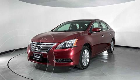Nissan Sentra SR Aut NAVI usado (2015) color Rojo precio $182,999