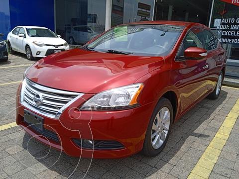 Nissan Sentra Advance usado (2016) color Rojo precio $189,900