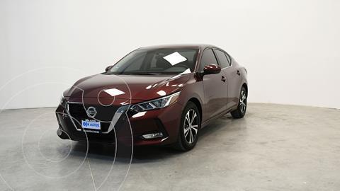 Nissan Sentra Advance usado (2020) color Rojo precio $334,320
