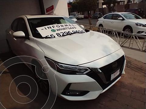 Nissan Sentra Exclusive Aut usado (2020) color Blanco precio $420,000