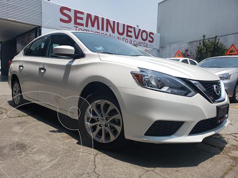 Nissan Sentra Sense usado (2018) color Blanco precio $219,800