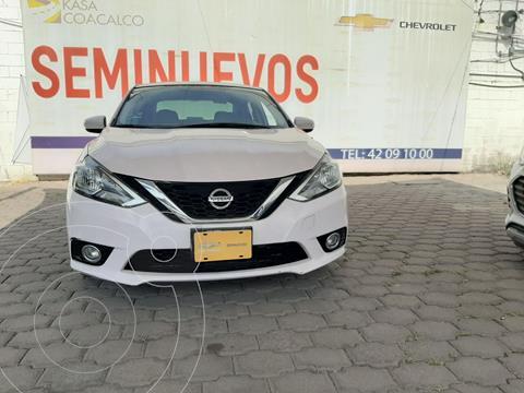 Nissan Sentra Advance usado (2017) color Blanco precio $200,000