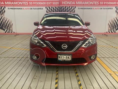 Nissan Sentra Advance usado (2018) color Rojo financiado en mensualidades(enganche $56,250 mensualidades desde $5,269)