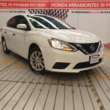 Nissan Sentra Sense usado (2017) color Blanco precio $210,000