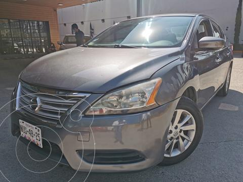 Nissan Sentra Sense usado (2013) color Gris Oxford precio $160,000