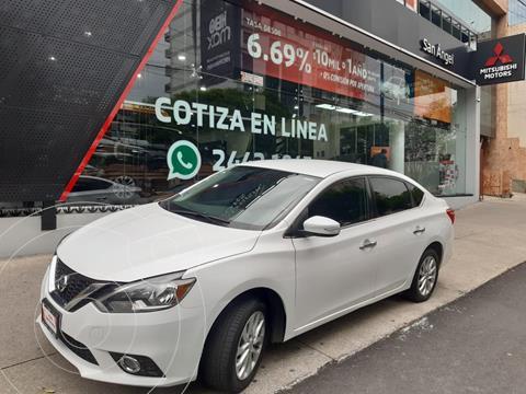 Nissan Sentra Advance Aut usado (2017) color Blanco precio $214,000