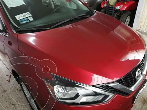 Nissan Sentra Advance Aut usado (2017) color Rojo precio $192,000