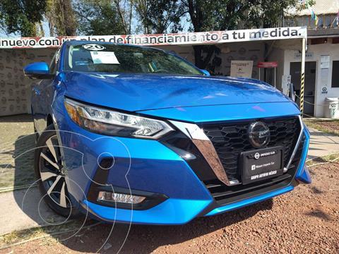 Nissan Sentra Exclusive Aut NAVI usado (2020) color Azul precio $389,000