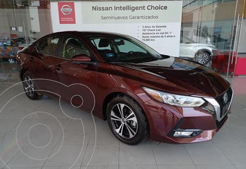 Nissan Sentra Advance  usado (2021) color Rojo precio $370,000