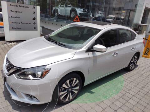 Nissan Sentra Exclusive Aut NAVI usado (2018) color Plata precio $255,000