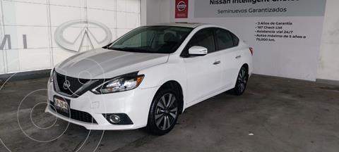 Nissan Sentra Exclusive Aut  usado (2018) color Blanco precio $245,000