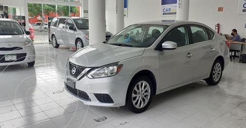 Nissan Sentra Sense Aut usado (2019) color Plata Dorado precio $199,900