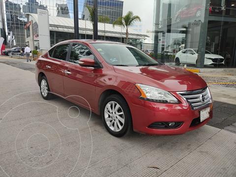 Nissan Sentra Advance Aut usado (2016) color Rojo precio $165,000