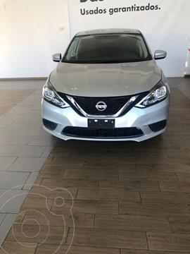 Nissan Sentra SENSE 1.8L L4 129HP CVT usado (2017) color Plata precio $205,000