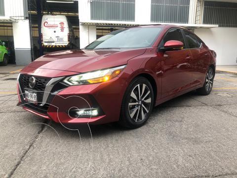Nissan Sentra Exclusive Aut usado (2020) color Celeste precio $380,000