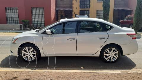 Nissan Sentra Exclusive NAVI Aut usado (2015) color Blanco precio $173,000