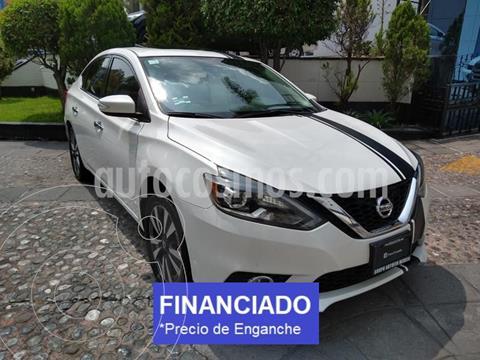 Nissan Sentra Exclusive Aut  usado (2017) color Blanco precio $66,000