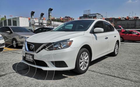 Nissan Sentra Sense usado (2019) color Blanco precio $240,000