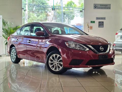 Nissan Sentra Sense usado (2017) color Rojo Cobrizo precio $195,000